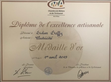 Medaille d'or2